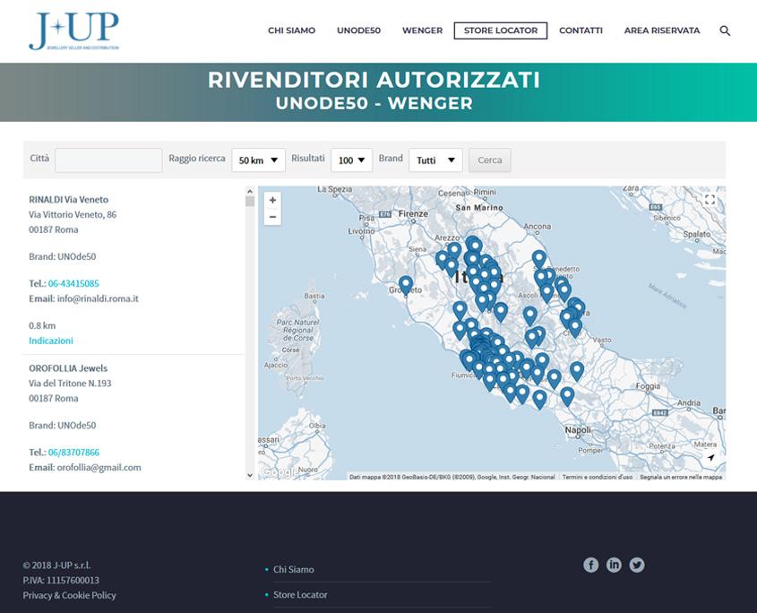 Realizzazione sito web J-UP